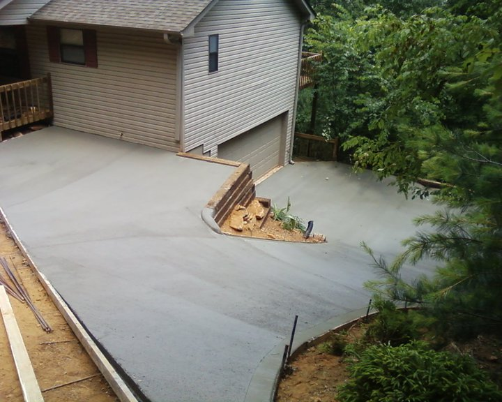 Overdrive Concrete Of North Georgia Driveways Patios