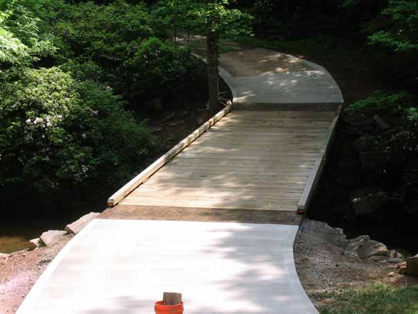 Timber Bridge by Foundation Masters